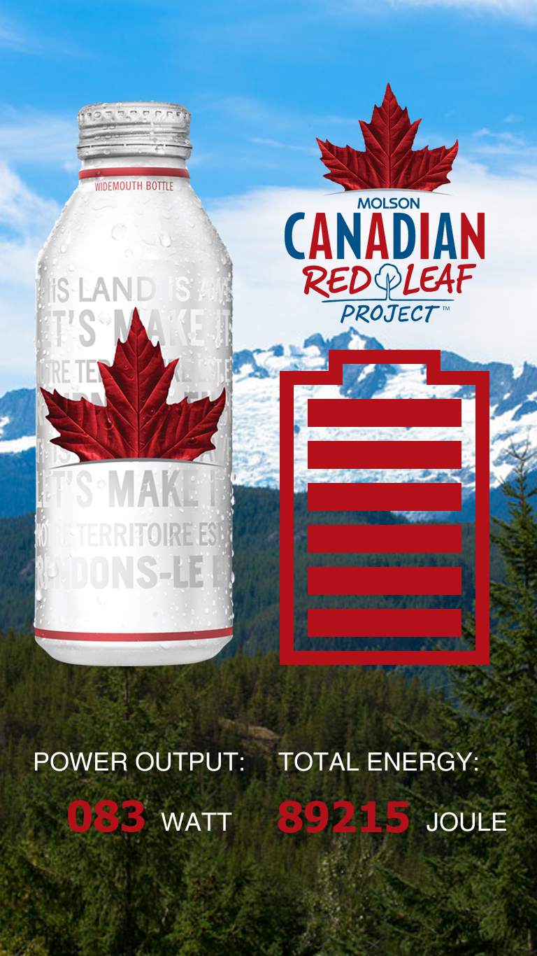 Molson Red Leaf Project Generates Sustainable Energy